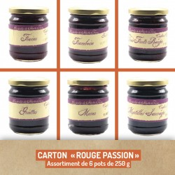 """Assortiment """"Rouge Passion"""""""